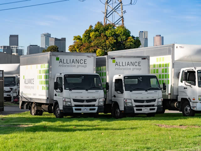 Alliance Relocation Trucks